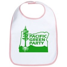 Pacific Green Party Bib