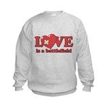 Love is a Battlefield Jumper Sweater