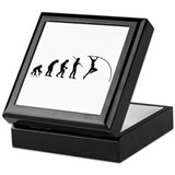 Pole Vault Evolution Keepsake Box