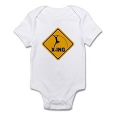 Pole Vault X-ing Infant Bodysuit