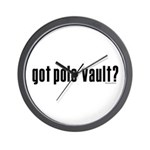 got pole vault? Wall Clock