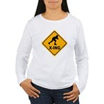 Roller Blade X-ing Women's Long Sleeve T-Shirt