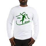 Disc Launch Green Long Sleeve T-Shirt