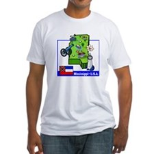 Mississippi Map Shirt