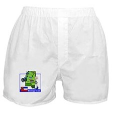 Mississippi Map Boxer Shorts