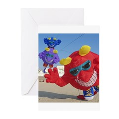 The Meanies ! Greeting Cards (Pk of 20)