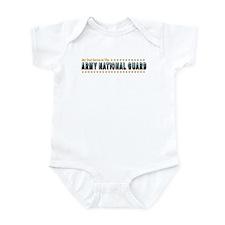 Army Guard Dad Infant Creeper