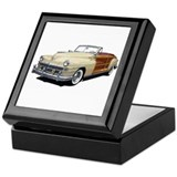 Cute Automobiles Keepsake Box