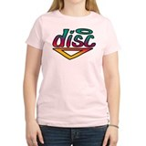 Disc Golf Text Shape1 T-Shirt