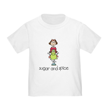 Sugar and Spice Toddler T-Shirt