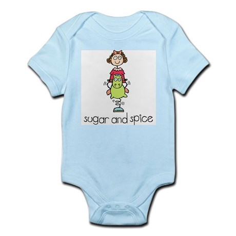 Sugar and Spice Infant Creeper