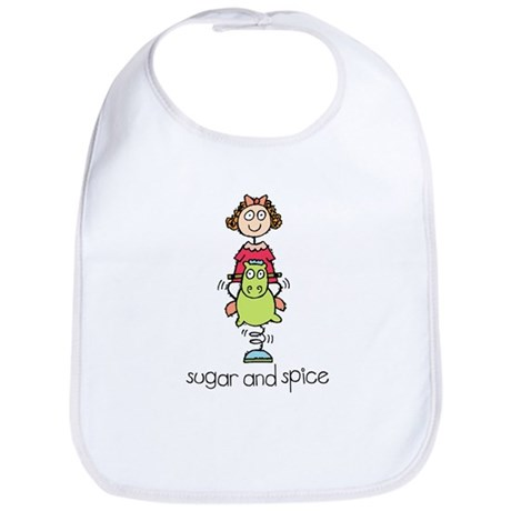 Sugar and Spice Bib