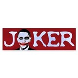 Obama Joker Bumper Bumper Sticker