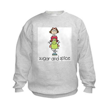 Sugar and Spice Kids Sweatshirt