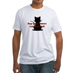 Cat Staff Fitted T-Shirt