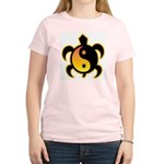 Gold Yin Yang Turtle Women's Light T-Shirt