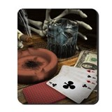 POKER HANDS! Mousepad