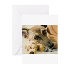 Unique German shepherd eyes Greeting Cards (Pk of 20)