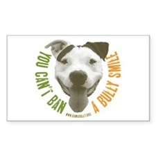 Bully Smile Rectangle Decal