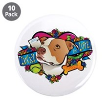 "Lucky in Love 3.5"" Button (10 pack)"