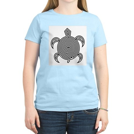 Labyrinth Turtle Women's Light T-Shirt