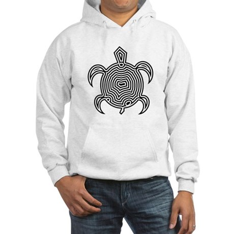Labyrinth Turtle Hooded Sweatshirt