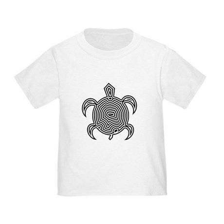 Labyrinth Turtle Toddler T-Shirt