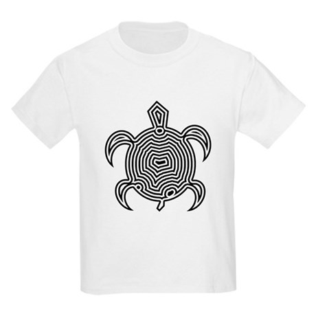 Labyrinth Turtle Kids Light T-Shirt