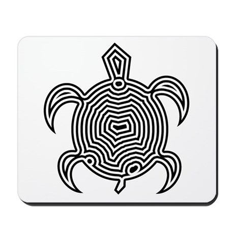 Labyrinth Turtle Mousepad