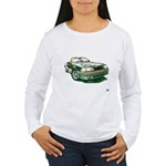 Mustang 87-93 RWB5spd Women's Long Sleeve T-Shirt