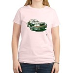 Mustang 87-93 RWB5spd Women's Light T-Shirt