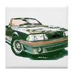 Mustang 87-93 RWB5spd Tile Coaster