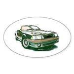 Mustang 87-93 RWB5spd Oval Sticker (10 pk)