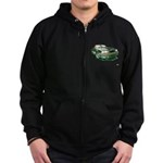 Mustang 87-93 RWB5spd Zip Hoodie (dark)