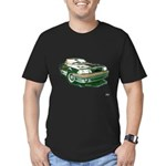 Mustang 87-93 RWB5spd Men's Fitted T-Shirt (dark)