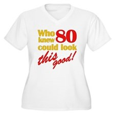Funny 80th Birthday Gag Gifts T-Shirt