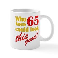 Funny 65th Birthday Gag Gifts Small Mugs