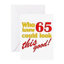 Funny 65th Birthday Gag Gifts Greeting Card
