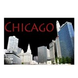 Funny Windy city Postcards (Package of 8)