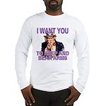 Uncle Sam Keep And Bear Arms Long Sleeve T-Shirt