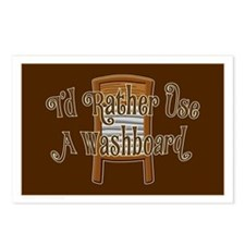Washboard Scrub Postcards (Package of 8)