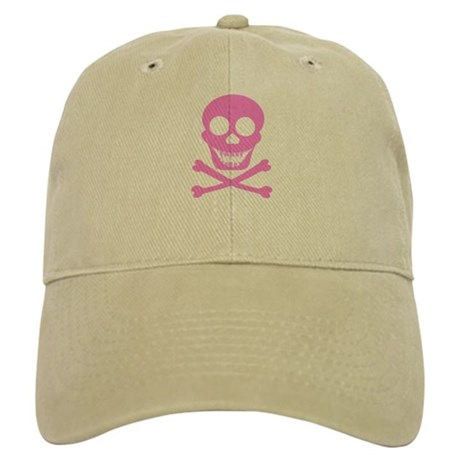 Pink Skull & Crossbones Cap