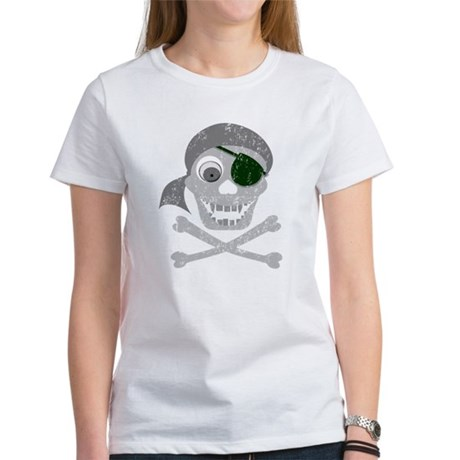Pirate Skull & Crossbones Women's T-Shirt