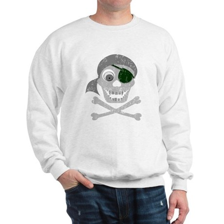 Pirate Skull & Crossbones Sweatshirt