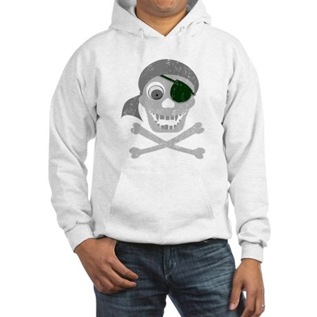 Pirate Skull & Crossbones Hooded Sweatshirt
