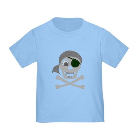 Pirate Skull & Crossbones Toddler T-Shirt