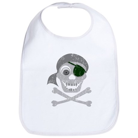 Pirate Skull & Crossbones Bib