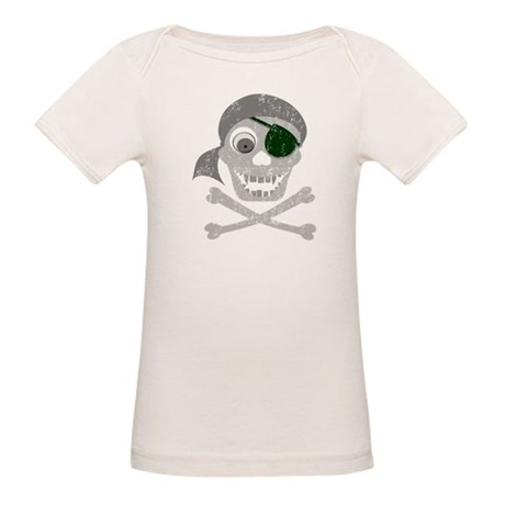 Pirate Skull & Crossbones Organic Baby T-Shirt
