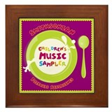 Children's Music Framed Tile