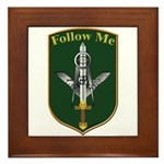 Army Infantry Framed Tile